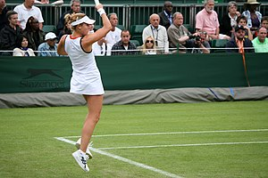 Alizé Cornet - Cornet at the 2009 Wimbledon Championships