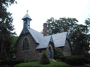 All Saint's Memorial Church (Navesink, New Jersey) - Image: All saints church