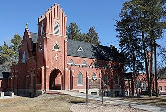 All Saints Church of Eben Ezer - Image: All Saints Church of Eben Ezer