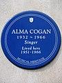Alma Cogan 1932-1966 singer lived here 1951-1966.jpg