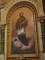 Altargemälde Johannes Nepomuks in der Pfarrkirche Langschwarza.jpg