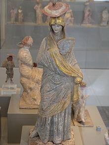 ceramic sculpture woman with balloon Figure of a woman handmade sculpture ceramic art