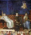 Ambrogio Lorenzetti - Allegory of the Good Government (detail) - WGA13486.jpg