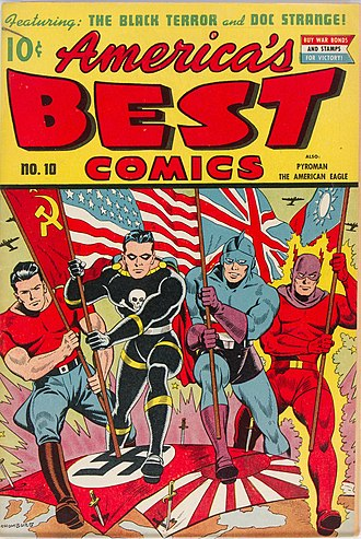 Doc Strange - America's Best Comics #7 October 1943