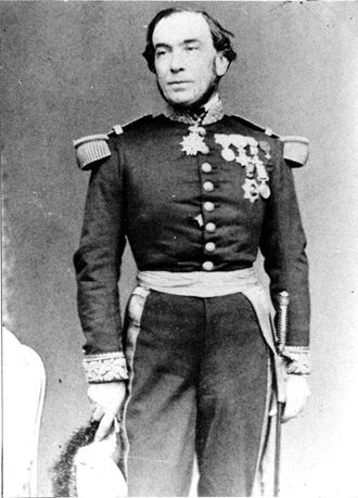 French campaign against Korea - Rear Admiral Roze was commander of the French Far Eastern Squadron.