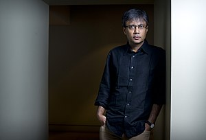 Amit Chaudhuri - Image: Amit Chaudhuri (Photo by Geoff Pugh)