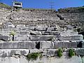 Ancient Theatre, built by Philip II in the 4th century BC and later reconstructed by the Romans, Philippi (7272318174).jpg