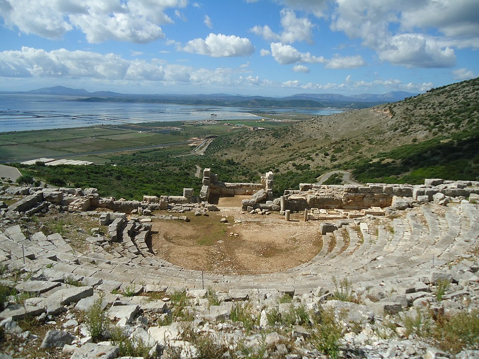 Ancient theater of Pleuron, Aetolia