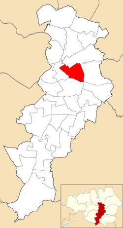 Ancoats and Beswick electoral ward within Manchester City Council
