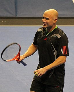 Andre Agassi Champions Shootout
