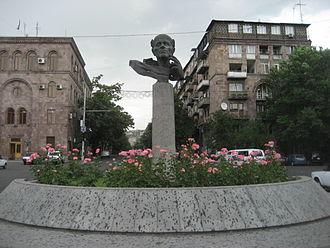 Andrei Sakharov - A statue of Andrei Sakharov in Yerevan, Armenia