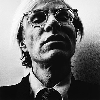 a23dc634d6 Moscot - Andy Warhol wearing the Miltzen frames