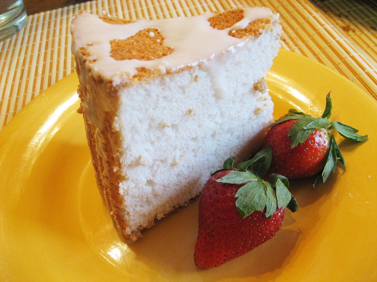 Angel Food Cake With Pudding  Ingredent Cake