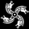 Anglo-Saxon Fylfot.png