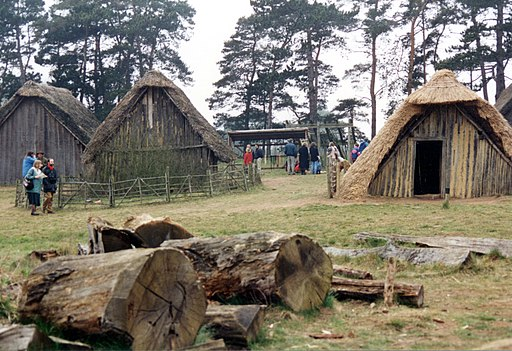 Anglo Saxon Village West Stow - geograph.org.uk - 509180