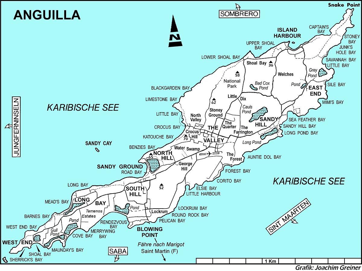 Caribbean Islands South Of Florida
