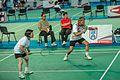 Ankara - BWF World Senior Badminton Championships - XD 60 - Siew Har & Henry (def by Hansen-Rasmussen (DEN) 13 & 12) (11078213443).jpg