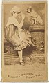 Anna Jameson, from the Actors and Actresses series (N45, Type 1) for Virginia Brights Cigarettes MET DP829577.jpg