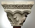 Anonyme toulousain - Chapiteau de colonne simple , La Descente de croix et la Mise au tombeau - Musée des Augustins - ME 134 (3).jpg