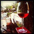 Another vacation? no! just visiting laura in the hollywood hills. (5917367360).jpg
