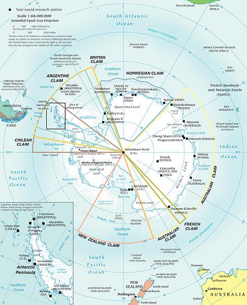 Después de las Malvinas sigue la Antártida Argentina......