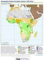 Anthropogenic Biomes of the World, Version 2, 1900 Africa (13603728423).jpg