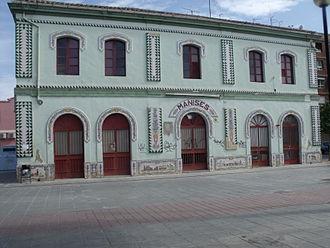 Manises - Image: Antigua estación de Manises