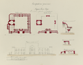 Antiquities of Samarkand. Madrasah of Tillia Kari. Plan, Elevation, and Sections WDL3584.png