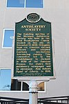 Antislavery Society Historical Marker Ann Arbor Michigan.JPG