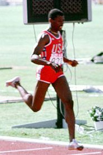 Antonio McKay - McKay at the 1984 Olympics