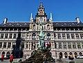 Antwerpen Grote Markt Rathaus 4.jpg