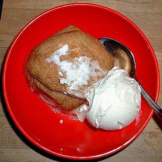 Apple dumpling Pastry-wrapped apple