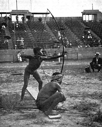 Colonialism and the Olympic Games - Anthropological archery during the 1904 Summer Olympics