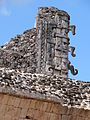 Architectural Detail - Uxmal Archaeological Site - Merida - Mexico - 02.jpg
