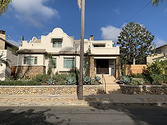Mission Hills, San Diego - Spanish Colonial/Art Deco house in Mission Hills