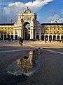 Arco da Rua Augusta,Praço do Comércio, Lisboa.jpg