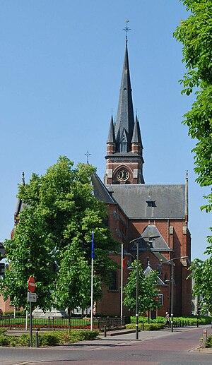 Arendonk - Image: Arendonk Centrum Kerk OLV LR