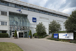SAS Group - Former Scandinavian Airlines head office at Arlanda Airport