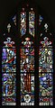Armagh St. Patrick's Cathedral of the Church of Ireland South Aisle W12 Millennium Window (Stitched) 2019 09 09.jpg