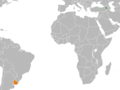Armenia Uruguay Locator (cropped).png