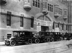 NoMad, Manhattan - The Armory Show in 1913 was a seminal event in the history of Modern Art