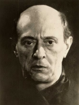 Edward Clark (conductor) - Arnold Schoenberg, 1927, by Man Ray