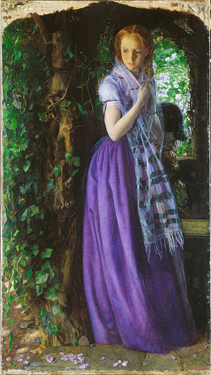 1856 in art - Arthur Hughes – April Love