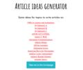 Article ideas generator demo app screenshot (4).png