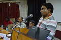 Arup Kumar Das - Panel Discussion - Collaboration with Academic Institutes for the Growth of Wikimedia Projects in Indian Languages - Bengali Wikipedia 10th Anniversary Celebration - JU - Kolkata 2015-01-09 2863.JPG
