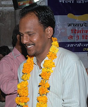 Ashif Shaikh - Ashif (Asif) Shaikh During the Maila Mukti Yatra 2009 for Manual Scavenging eradication organised by Rashtriya Garima Abhiyan