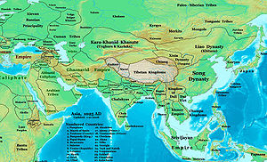 History of the Khitans - Location of Khitan-Liao (1025)