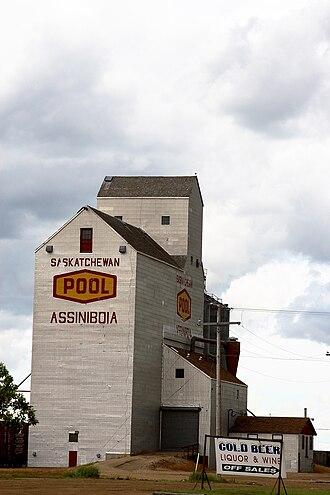 Assiniboia, Saskatchewan - Assiniboia Grain Elevator