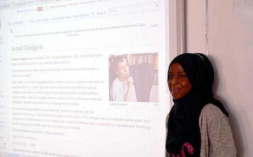 Astrid Lindgren somaliska Wikipedia