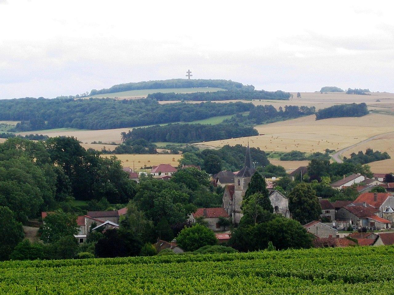 Aube Rouvres-Les-Vignes Croix De Colombey Les Deux Églises 08072008 - panoramio.jpg